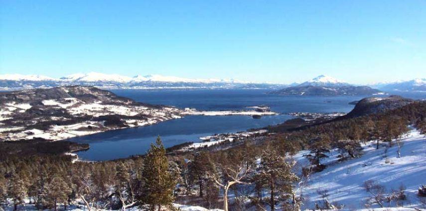 Tour im Romsdalfjord (März 2014)