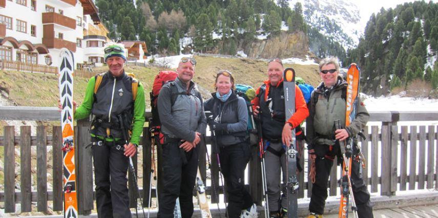 Kleine Venter Runde – Pfiffige Skidurchquerung in den Ötztaler Alpen (April 2014)